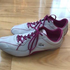 Lacoste women's sneaker.  GUC